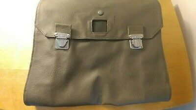 Original Swiss Army Messenger Case - Military Surplus Bag Soldier Documents Pack • 15£