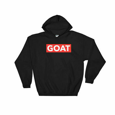 $29.99 • Buy GOAT Red Box Logo Hoodie Hip Hop Rap Music Savage Style Sweatshirt Jumper New