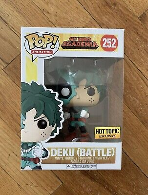 $19.99 • Buy Funko Pop! Battle Deku My Hero Academia #252 Hot Topic Exclusive *In Hand*
