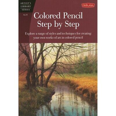 $14.95 • Buy Artist's Library Series: Colored Pencil Step By Step