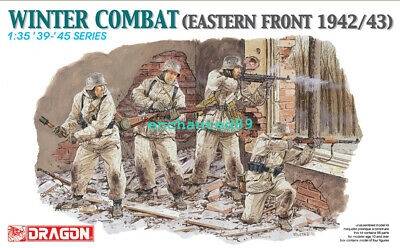 Dragon 6154 1/35 Built And Painted Winter Combat Eastern Front 1942/43 Figure B • 15.99£
