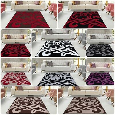 Modern Large Living Room Bedroom Area Rugs Hallway Runners Kitchen Floor Carpets • 69.99£