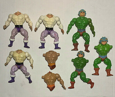 $59 • Buy MOTU Masters Of The Universe Man-at-Arms He-Man Prince Adam Parts Figures Lot