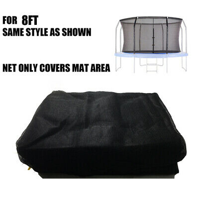 AU45 • Buy Replacement Safety Net Enclosure For 8Ft Round Trampoline With 6 Poles
