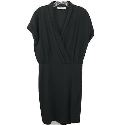 $ CDN130.63 • Buy MM LaFleur Womens Dress The Tory Faux Wrap Black Size 12