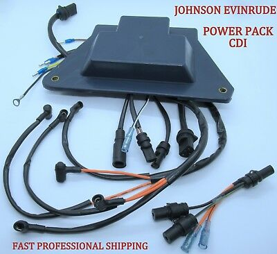$162.95 • Buy New Evinrude Johnson OMC Outboard CDI Power Pack Many 1993-2000 V6 185-250 HP