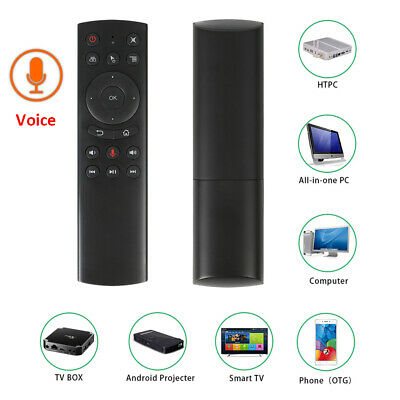 AU18.81 • Buy G20 Voice Remote Control Air Mouse 2.4G Wireless Sensor For Android TV Box W5E7