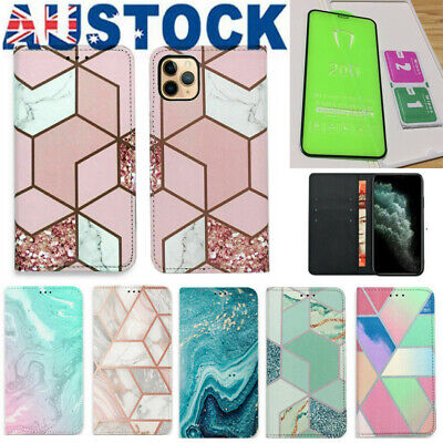 AU8.53 • Buy Luxury Magnetic Flip Wallet Leather Case Cover For IPhone 7 8 Plus X XS MAX 11