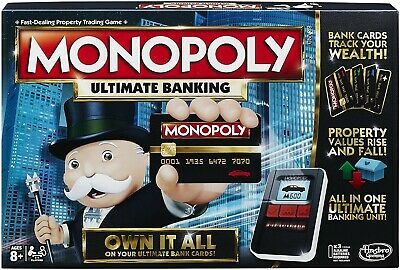 $35.99 • Buy NEW! Monopoly Ultimate Banking Board Game Exclusive- Fast Shipping!