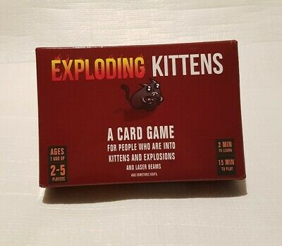 AU35 • Buy Exploding Kittens Funny Card Game NEW
