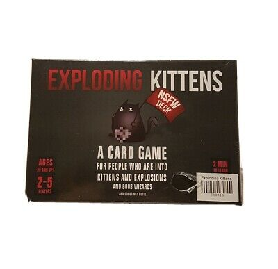 AU30 • Buy Exploding Kittens NSFW Deck Humorous Adult Card Game NEW