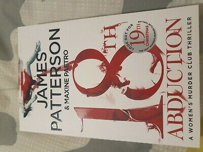 AU10 • Buy Women's Murder Club 18: 18th Abduction By James Patterson [Paperback]