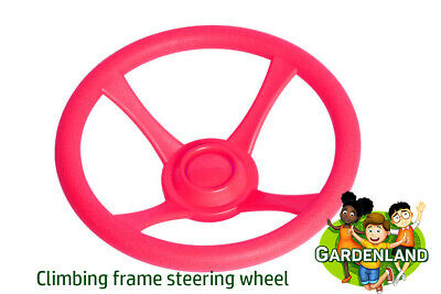 £9.79 • Buy Kids PURPLE STEERING WHEEL For Climbing Frames And Playgrounds 32 Cm Diameter
