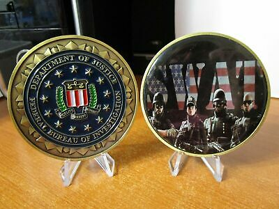 £16.99 • Buy FBI SWAT Siege Rainbow Six Team Special Operations Police Challenge Coin Medal