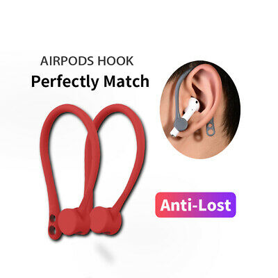 $ CDN7.69 • Buy 1 Pair Earhook Holder For AirPods Strap Silicone Sports Anti-lost Ear Hook Best