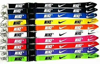 Nike Lanyard Over-Neck ID Card OR Key Holder 24 Colours! *FREE UK DELIVERY* • 3.19£