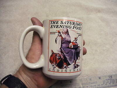$ CDN11.33 • Buy Norman Rockwell The Saturday Evening Post Christmas Collection Coffee Mug Cup