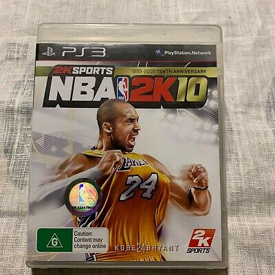 AU17.95 • Buy NBA 2K10 (Sony PlayStation 3 PS3 With Manual 🇦🇺 Seller Oz