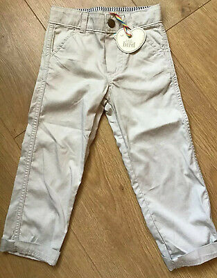£12.50 • Buy Little Bird By Jools Oliver Stone Coloured Chino Style Trousers 12-18 Mths 🌈