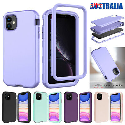 AU10.99 • Buy Fr IPhone 11 12 Pro Max Mini SE 7 8 Case Hybrid Shockproof Heavy Duty Hard Cover