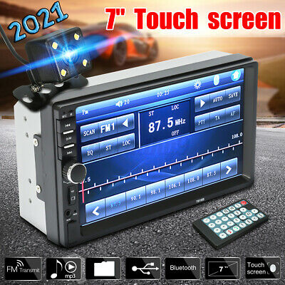 AU71.83 • Buy 7'' 2 Din MP5 Radio Player Double Car Stereo Head Unit Radio LCD Touch Screen AU