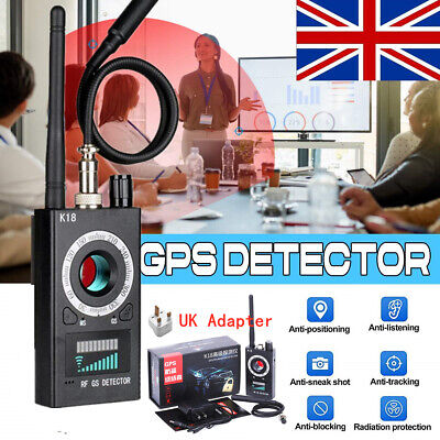 View Details Anti-Spy Hidden Camera Detector RF Signal Bug GSM GPS Finder Tracker Scanner • 32.99£
