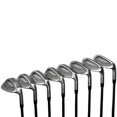 AU408.47 • Buy Ginty HEAVY Golf Clubs XL Big & Tall Men's +3  Over Iron Set (3-PW) Stiff Flex