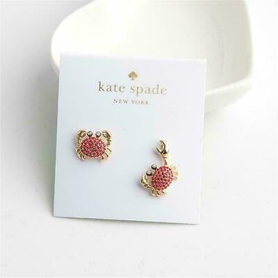 $ CDN22.97 • Buy Kate Spade Red Crab Earrings Free Shipping