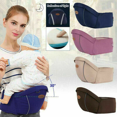 Baby Carrier Kids Toddler Newborn Waist Hip Seat Wrap Walker Belt Sling Hold UK • 12.99£