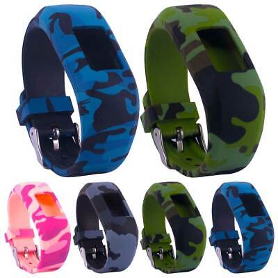 AU12.19 • Buy For Garmin Vivofit 3/JR/JR 2 Camouflage Silicone Replacement Watches Band Strap