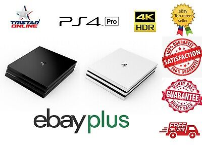 AU449 • Buy Sony PlayStation 4 Pro, PS4 Console+Controller HDMI 4K HDR Black White Aus Stock