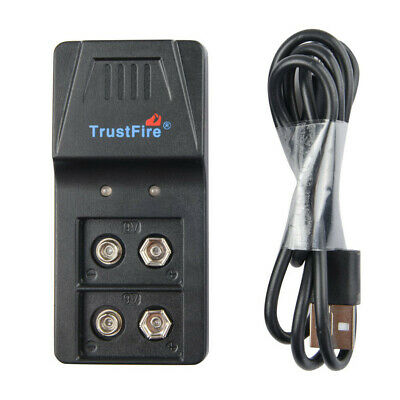 AU14.40 • Buy Li-ion Lithium Rechargeable 9V Rechargeable Battery Charger