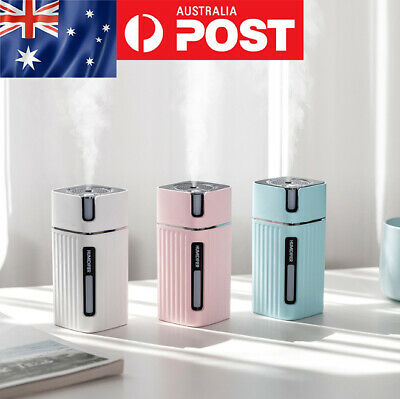 AU24.99 • Buy USB Portable Air Humidifier Aroma Oil Diffuser Atomizer Ultrasonic Humidificador