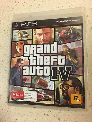 AU7 • Buy Grand Theft Auto IV (PlayStation 3, 2008)