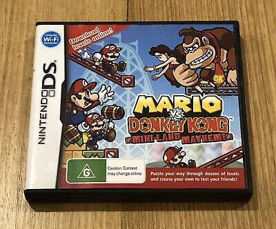 AU24.99 • Buy Mario Vs. Donkey Kong: Mini-Land Mayhem (Nintendo DS)