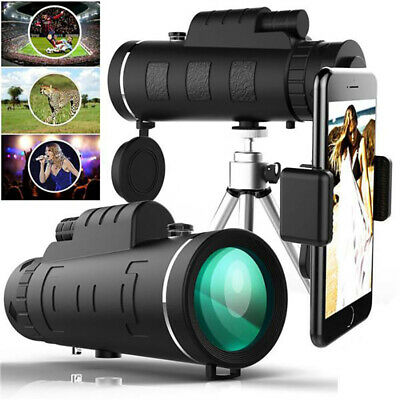Super High Power 40X60 Portable Night Vision Monocular Telescope Binoculars HD • 11.99£