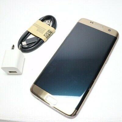 $ CDN396.86 • Buy Security Guarantee Day Sim Free Galaxy S7 Edge Goldplatinum Used Body