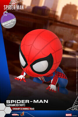 $ CDN46.76 • Buy Hot Toys Marvel Cosbaby Bobble Head COSB769 Spider-Man Advanced Suit Model Body