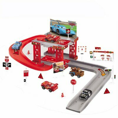 Kids DIY Xmas Gift Toy Car Park Garage Parking Construction Set +Vehicles @I • 15.16£