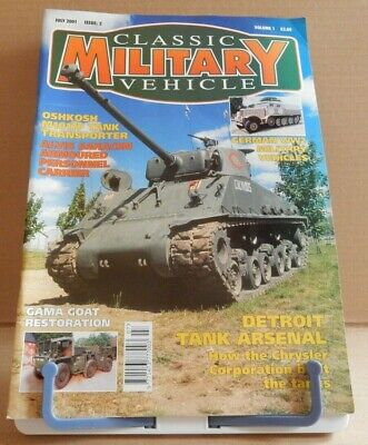 Classic Military Vehicles - Detroit Tank Arsenal - Volume 1 Issue 2 • 4.95£