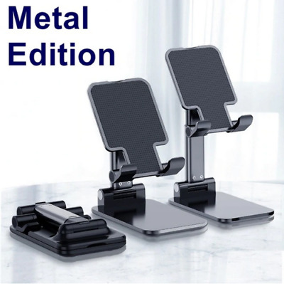 $14.89 • Buy 2020 Cell Phone Tablet Switch Stand Aluminum Desk Table Holder Cradle Dock Phone