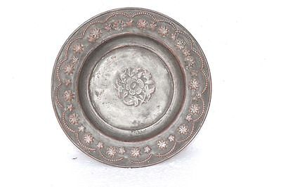 £52.27 • Buy Brass Plate Old Vintage Hand Carved Unique Kitchenware Collectible PB-12