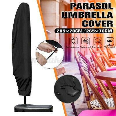 AU18.99 • Buy 265cm Umbrella Cover Garden Parasol Sun/Rain/Dust Protection Outdoor AU