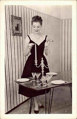 Pat Goddard, 1950s Housewife, 1955 - Nostalgia - Old Postcard - Unposted • 3.29£