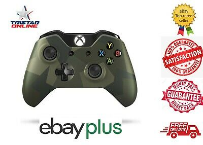AU79.99 • Buy Microsoft Xbox One Wireless Controller Armed Forces Special Edition Genuine AU