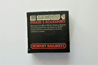 HORNBY R953 Zero 1. Display Module For Use With R957 Display Panel • 2.99£