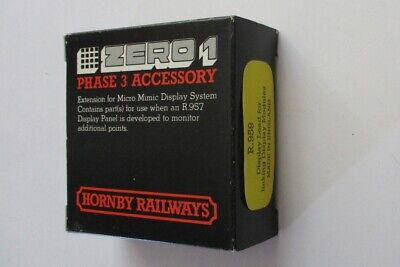 HORNBY R959 Zero 1. Single Display Lead For Linking Display Modules • 2£