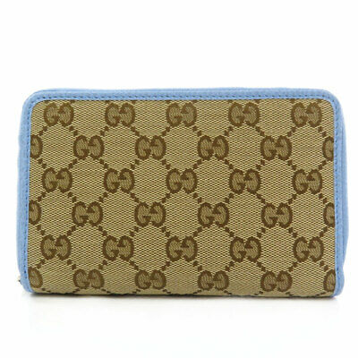 $342.95 • Buy GUCCI  420113 Long Wallet (with Coin Pocket) GG Pattern Outlet Canvas