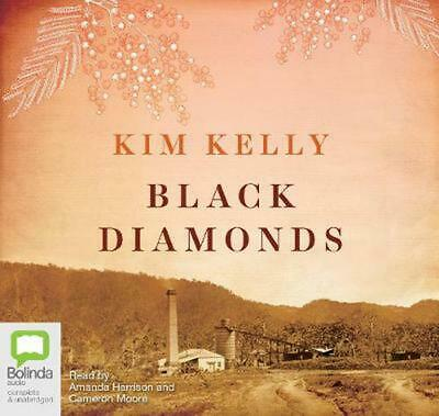 Black Diamonds By Kim Kelly (English) Compact Disc Book Free Shipping! • 16.36£