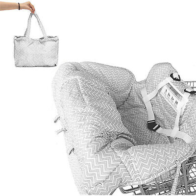 £15.97 • Buy Baby Shopping Trolley Cart Seat Pad Child High Chair Cover Protector Foldabl  @I